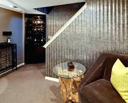 fancy corrugated metal wall new ideas basement wall covering ideas corrugated metal walls metal wall covering fancy corrugated metal