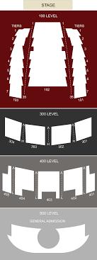 Arvest Midland Seating Chart Arvest Bank Theatre At The Midland Kansas City Mo