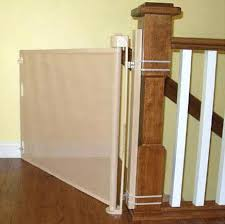 Stairway Baby Gate Retract A Gate Wide Stairs Baby Gate – nerdtag.me