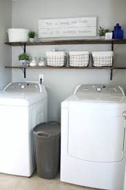 the easiest tutorial for diy laundry room shelves these inexpensive shelves instantly give your laundry