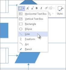 Ms word does for sure. Draw A Line Visio