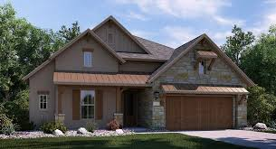 Texas Hill Country House Plans   A Historical and Rustic Home    simple texas hill country house plans   brown painted wall and glass windows   shutters and