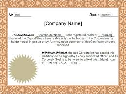download stock certificate template free 6 sample stock certificate templates in google docs