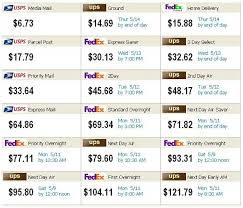 Fedex One Rate Chart Fedex One Rate Box Sizes Fedex Free Engine Image For Ups