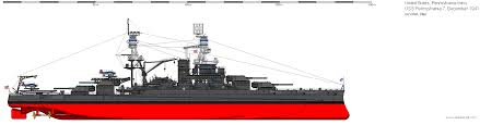 Uss long beach (clgn 160/cgn 160/cgn 9) image courtesy of al grazevich. A Shipbucket Style Drawing Of Uss Washington Bb 56 As The Ship Appeared In September Of 1942 Description From De Uss Pennsylvania Us Battleships Battleship