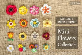 Small Crochet Flower Pattern Amazing Decorating Design