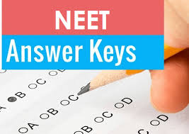 Image result for neet answer keys