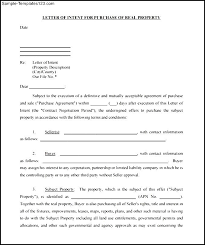 Contractor Letter Of Intent Cover Letter Samples Cover