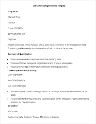 Call Center Resume Template Magnificent Resume Examples For Call Center Jobs Fruityidea Resume