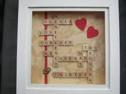 Scrabble Names Wall Art Use Scrabble Tiles To Make A Personalized Box Frame Wedding Or