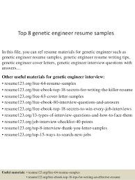 Genetic Engineer Sample Resume top10000geneticengineerresumesamples1006310000jpgcb=100431007674910000 1