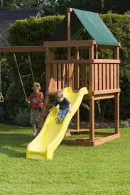 home made wooden playsets and swingsets while designed and built with the best intentions are under or over engineered made with entrapment areas