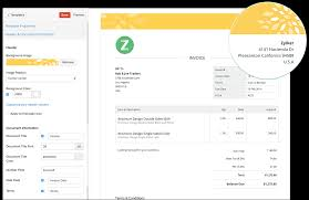 invoice forms invoice templates from zoho invoice customise your invoices