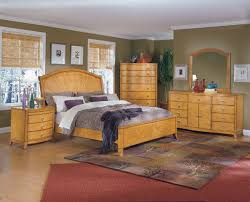 Light Wood Furniture Cool Bedroom Set
