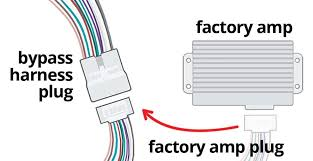 adding a stereo to a vehicle with a factory amp should you bypass Ford Wiring Harness Diagrams at 07 Pathfinder Amp Harness Wiring Diagram
