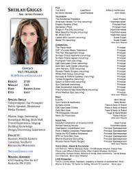Download Talent Resume of Sheilah Griggs