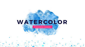 Presentaciones Ppt Gratis Watercolor Free Powerpoint Template Presentations On
