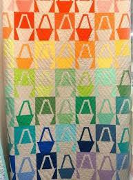 Modern Basket Quilt Block Tutorial | FaveQuilts.com & Modern Basket Quilt Block Tutorial Adamdwight.com