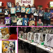 painting with a twist has locations across tampa bay book your palette at any of their four tampa bay area locations painting with a twist in carrollwood