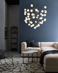 lighting for living rooms. the mara led chandelier is a modern interpretation of classic multiarm lighting for living rooms o