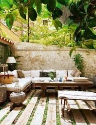 Innovation Outdoor Floor Seating Burlap And Salvaged Scrap Pillows Natural Cotton Canvas With Impressive Design