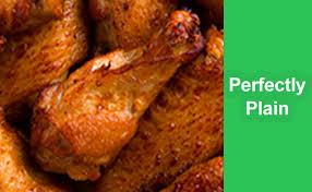 plain fried wings