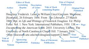 Mla Citation Detailed Mla Citation For A Reprinted Letter