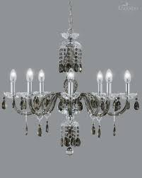 classic crystal chandelier made with golden teak and chrome the metal finish the crystal ts are impeccably combined in shade golden teak