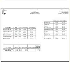 Paycheck Templates Pay Stub Word Template Paycheck Template Excel
