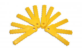 weed trimmer blades. weed warrior® push-n-load replacement blades trimmer e