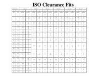 H6 Tolerance Chart For Hole Hole Tolerance Chart