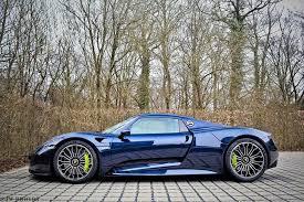 porsche 918 spyder blue. dark blue porsche 918 spyder