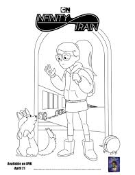 A great feature printable coloring pages you can take picture of their creation save to device, print to paper or share them via email, facebook and twitter that installed on your device. Free Printable Infinity Train Book One Coloring Page Mom S Blog