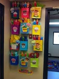 Cute Birthday Chart Idea Do This With Small Gift Bags Or