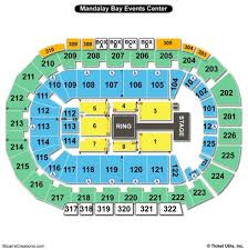 Providence Performing Arts Center Interactive Seating Chart Mandalay Event Center Seating Chart Mandalay Bay Event