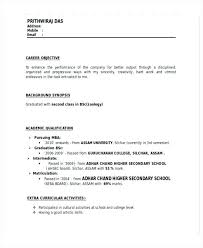 Hr Resume Format Hr Fresher Resume Format Doc Hr Manager Resume Word ...