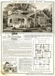 mail floorplan. The Bandon Was A Sears Craftsman Bungalow Mail-order House. 1915-1920. Mail Floorplan