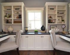 Furniture White Home Office Furniture With Double Chairs Modern Home Office  Design For Two People   For the Home   Pinterest   Office designs, ...