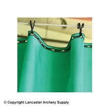 high performance green arrow backstop netting 10