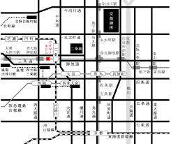 観光地へのアクセス ヤド ウサギノネドコ京都店