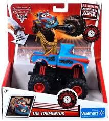Disney / Pixar CARS TOON Exclusive Monster Truck Tormentor [Power ...