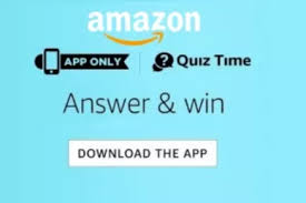 Answers Added) Amazon Quiz Contest All Answers Today For 23rd April ...