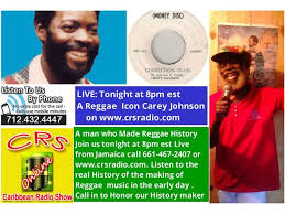 Live Chat:Reggae Icon Carey Johnson Maga hits Musical Scorcher,Correction  Train 01/01 by Caribbean Radio Show CRS Radio | Music