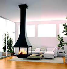 Floating Fireplace Dining Room Contemporary With Black Fireplace Floating Fireplace