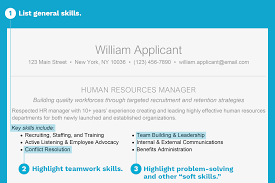 general resume general skills for resumes cover letters and interviews