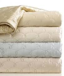 Barbara Barry Bedding, Dream Silk Quilted King Coverlet Champagne ... & Barbara Barry Bedding, Dream Silk Quilted King Coverlet Champagne Quilt NEW Adamdwight.com