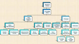 Delegation Of Authority Chart Organizational Chart S B Jain Institute Of Technology