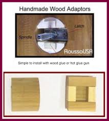 modern glass door knobs. Our Original Wood Adapters To Install Almost Any Knob On Modern Pre-drilled Doors Glass Door Knobs I
