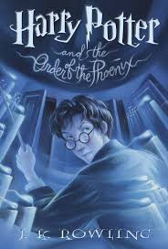 harry potter and the order of the phoenix by j k rowling any book