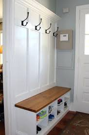 Entrance Bench With Coat Rack Mudroom Storage Bench Diy Awesome And Entryway Benches For Hall Tree 47